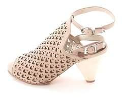Matt Bernson Womens Maja Peep Toe Special Occasion Mule Sandals.