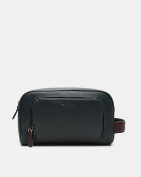 Ted Baker Leather wash bag