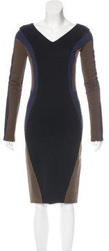 Amen Colorblock Midi Dress w/ Tags