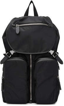 Neil Barrett Black Nylon Backpack