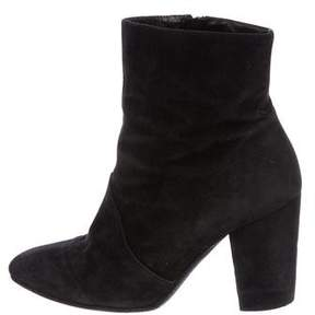 Robert Clergerie Clergerie Paris Suede Pointed-Toe Ankle Boots