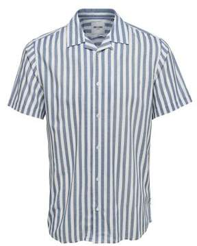 ONLY & SONS Striped Button-Down Shirt