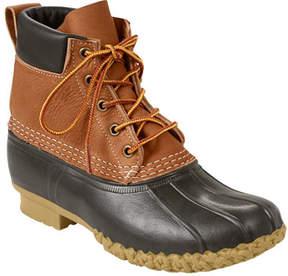 L.L. Bean Women's Tumbled-Leather L.L.Bean Boot, 6 Padded Collar