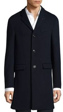 Michael Kors Luxe Knit Crombie Coat
