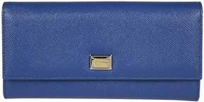 Dolce & Gabbana Genuine Continental Wallet - BLU - STYLE