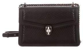 Bvlgari Quilted Serpenti Forever Bag