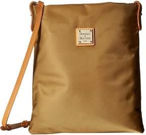 Dooney & Bourke Miramar Small Dani Crossbody Cross Body Handbags - KHAKI/BTRSCTCH TRIM - STYLE