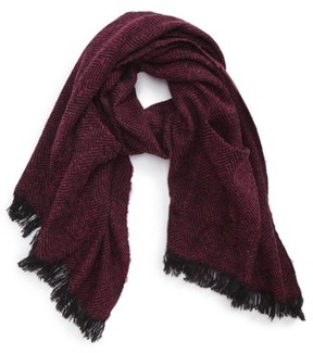 BP Women's Herringbone Pocket Scarf