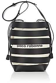 Paco Rabanne Women's Leather Cage Bucket Bag-Black