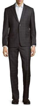 Lauren Ralph Lauren Checkered Wool Suit