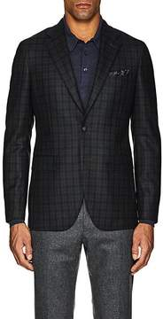 Boglioli Men's Checked Wool Two-Button Sportcoat
