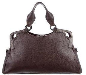 Cartier Karung-Trimmed Marcello de Cartier Bag