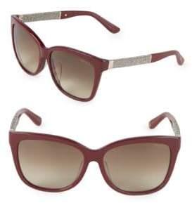 Jimmy Choo Cora 58MM Square Sunglasses