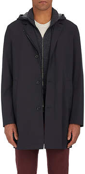 Loro Piana Men's Sebring Tech-Twill Raincoat