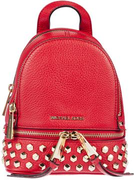 Michael Kors Studded Backpack - BRIGHT RED - STYLE