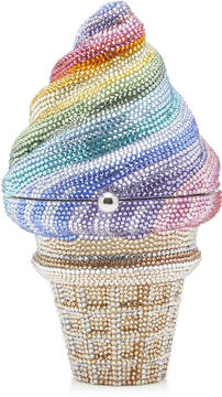 Judith Leiber Couture Crystal-Embellished Clutch