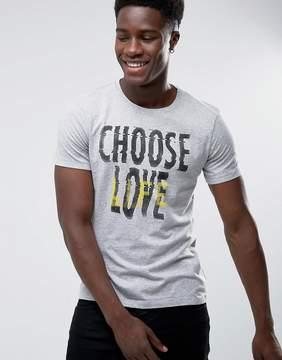 Benetton Choose Life Slogan T-Shirt