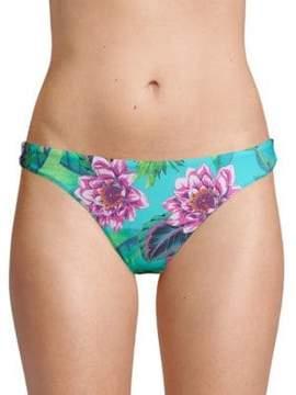 Pilyq Floral-Print Bikini Bottom