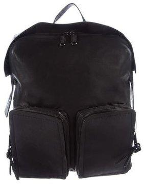 Jimmy Choo Lennox Leather Backpack