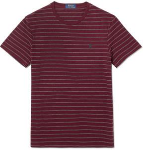 Polo Ralph Lauren Slim-Fit Striped Cotton-Jersey T-Shirt