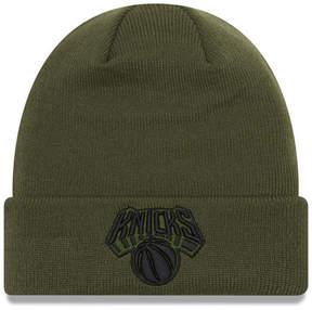 New Era New York Knicks Fall Time Cuff Knit Hat