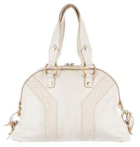 Saint Laurent Easy Satchel - NEUTRALS - STYLE