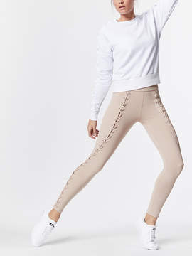 Carbon38 Lace Up Twisted Seam Legging