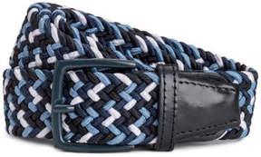H&M Braided elastic belt - Blue