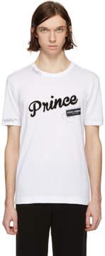 Dolce & Gabbana White Prince T-Shirt