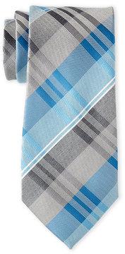 Geoffrey Beene Sunrise Plaid Tie