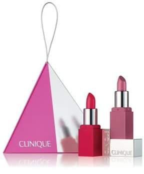 Clinique Party Pop Lip Colour Duo- $21.50 Value