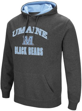 Colosseum Men's Campus Heritage Maine Black Bears Pullover Hoodie