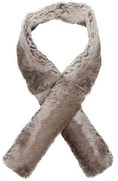 Maison Margiela Grey Fur Scarf