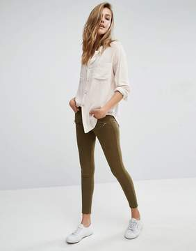 Abercrombie & Fitch Low Rise Skinny Pants With Zips
