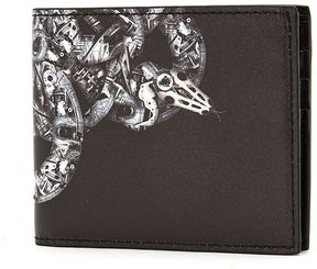 Marcelo Burlon County of Milan Ke Wallet Printed Leather Wallet