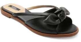 Kensie Major Bow & Cutout Sandals