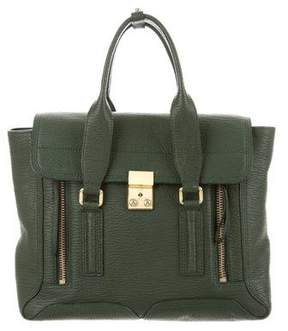 3.1 Phillip Lim Textured Pashli Satchel