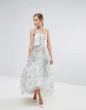 Coast Botanical Print Maxi Dress