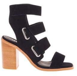 Sol Sana Lixer Open-Toe Stacked-Heel Sandals