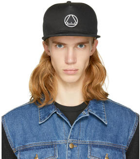 McQ Black Glyph Icon Baseball Cap