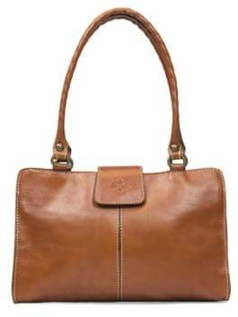 Patricia Nash Rienzo Leather Satchel Bag
