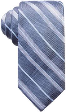 Ryan Seacrest Distinction Men's Robson Stripe Slim Silk Tie, Created for Macy's
