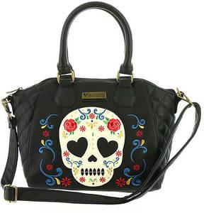 Loungefly Sugar Skull Rose Tote Bag