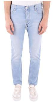 Care Label Men's Light Blue Cotton Jeans.