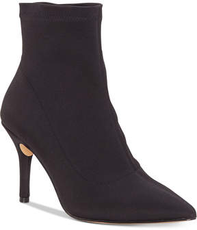 INC International Concepts Zete Sock Ankle Booties, Created for Macy's Women's Shoes