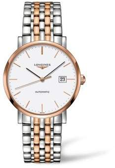 Longines Elegant Collection Gold & Stainless Steel Watch