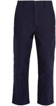 Lemaire Carrot-fit cotton-twill chino trousers