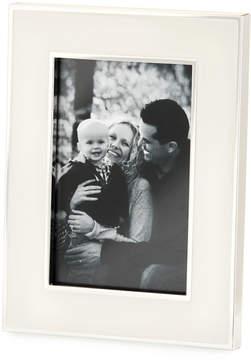 DAY Birger et Mikkelsen Tizo Wide Enamel 4 x 6 Picture Frame, White/Silver