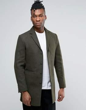 Selected Wool Mix Overcoat