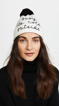 Kate Spade Baby Its Cold Outside Beanie